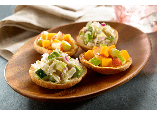 Toufayan Bakeries Mini Pitettes Mini Cheddar Apple Bites