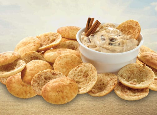 Toufayan Bakeries Pita Chip Cinnamon and Sugar Dip