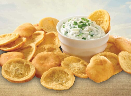 Toufayan Bakeries Pita Chip Creamy Spinach Dip