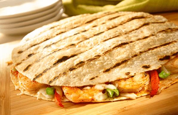 Toufayan Bakeries Chipotle Shrimp Quesadilla Wraps
