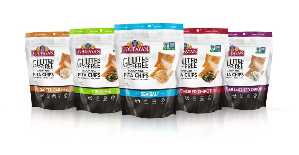 Toufayan Bakeries Gluten Free Scoop-Able Pita Chips