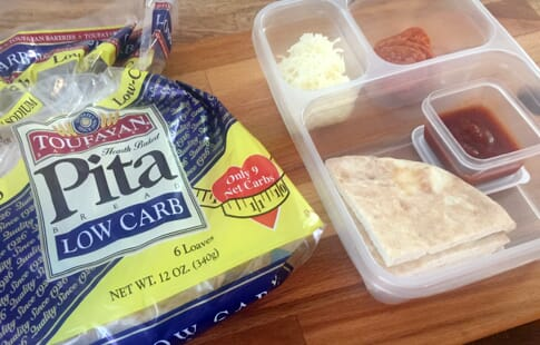 DIY Pizza Pita Lunchable