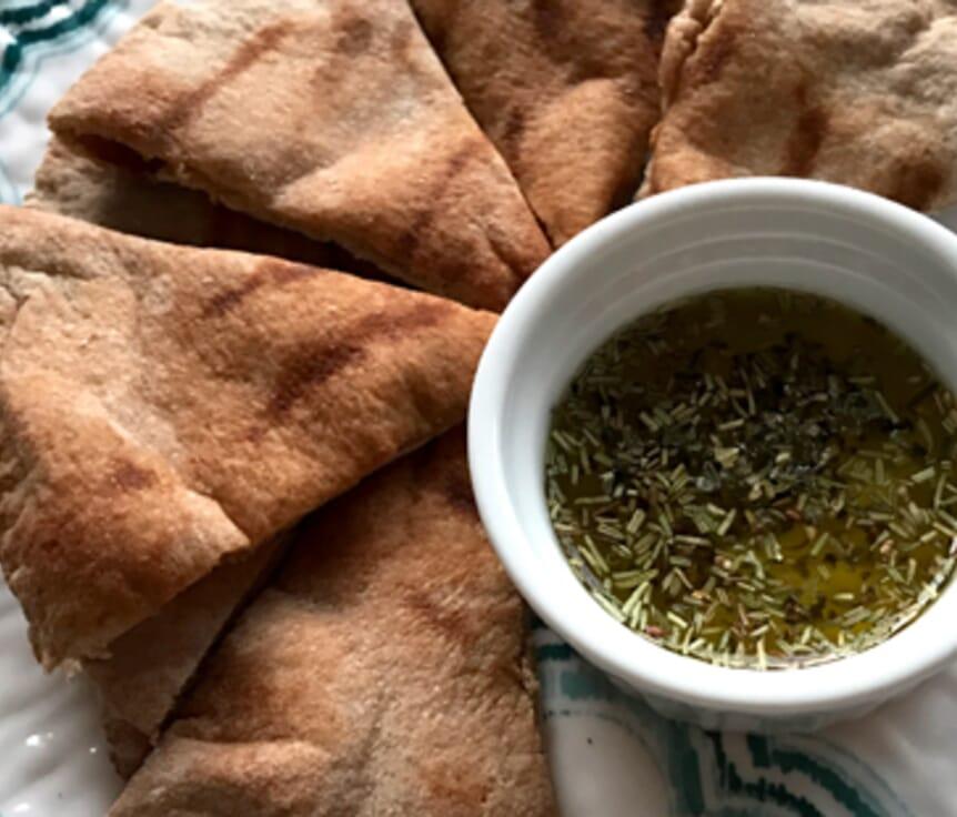 Simple Grilled Pita