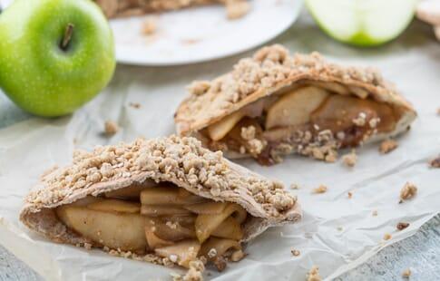 Apple Pie Stuffed Pitas