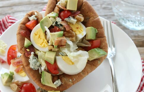 Mini Bread Bowl Cobb Salads
