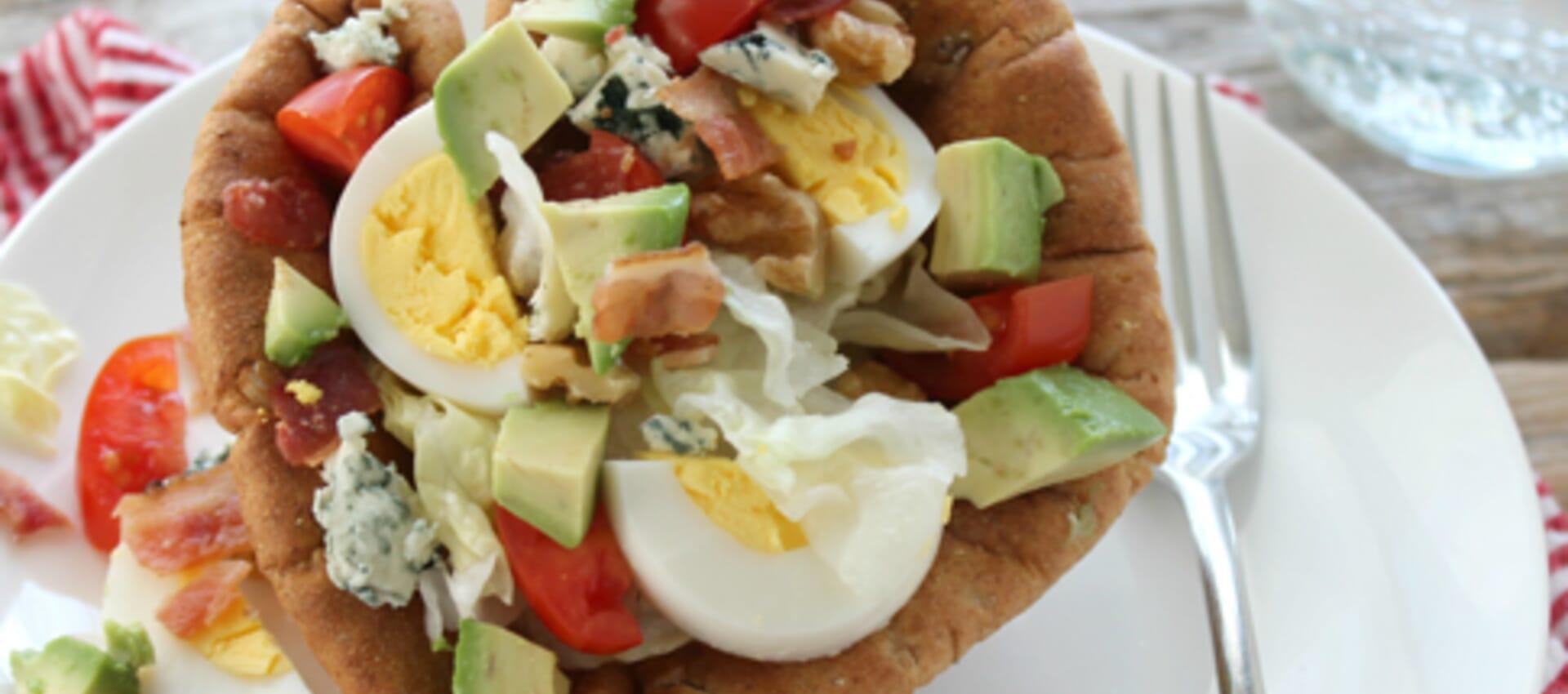 Mini Bread Bowl Cobb Salads