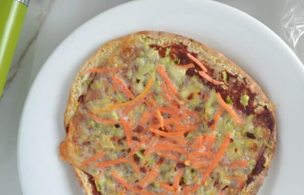 Thin Crust Pita Pizza
