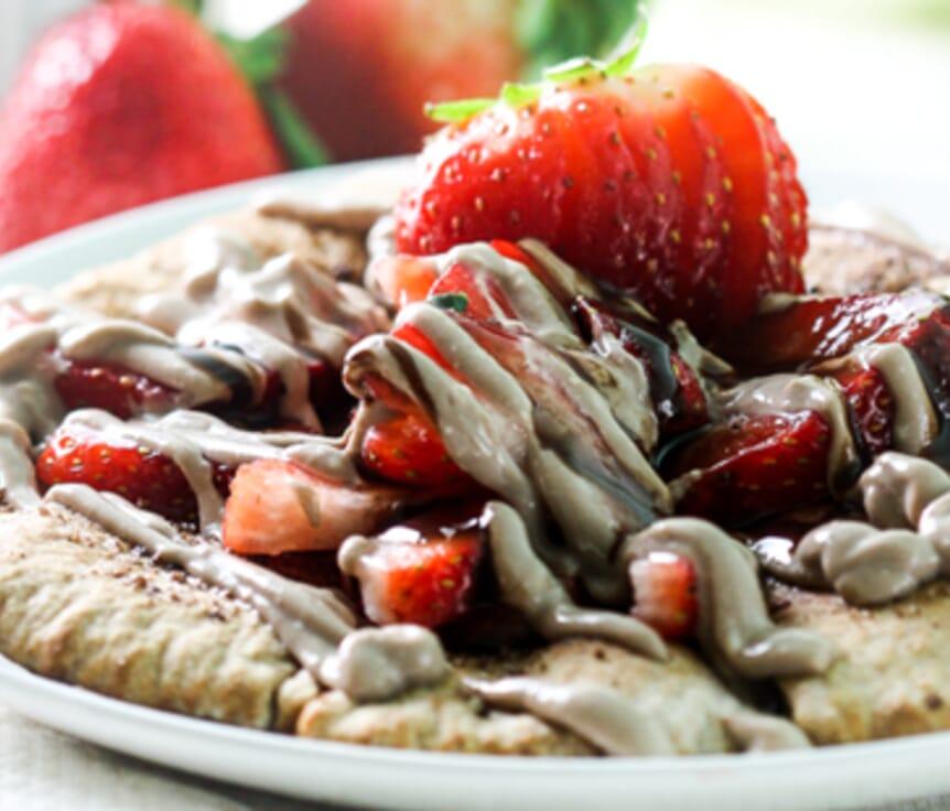 Strawberry Pita Nachos