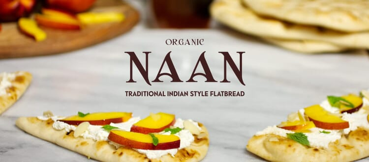 Toufayan Organic Naan