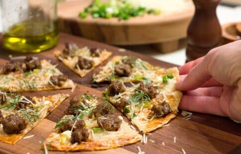 BBQ Skillet Pizza