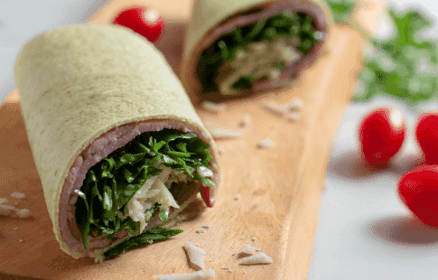 Gluten-Free Black Forest Ham & Cheese Wrap